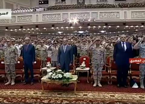 ختام فعاليات ندوة القوات المسلحة في ذكرى تحرير سيناء بالسلام الجمهوري
