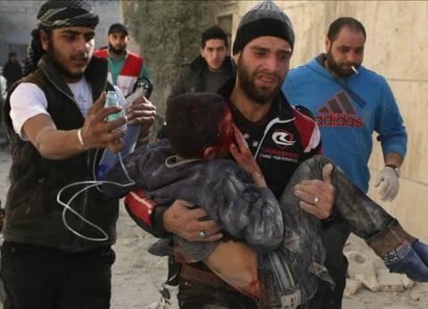 4 قتلى و15 جريحا بقصف استهدف سوقا للماشية بريف إدلب السورية