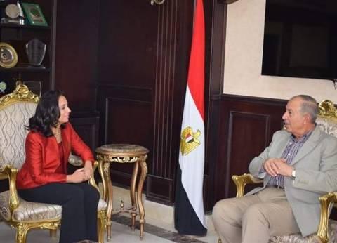 محافظ البحر الأحمر يستقبل رئيس المجلس القومي للمرأة