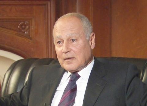 وزير الخارجية العراقي يبحث مع أبو الغيط تعزيز العمل العربي المشترك