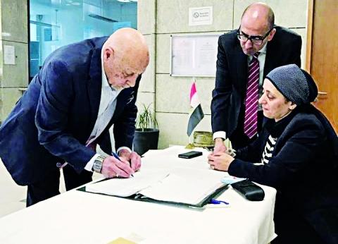 إقبال كثيف للمصريين بالخارج فى اليوم الثانى للتصويت
