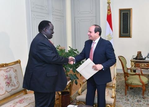 3 لقاءات لـ«السيسى» لترسيخ أمن أفريقيا ودعم جنوب السودان