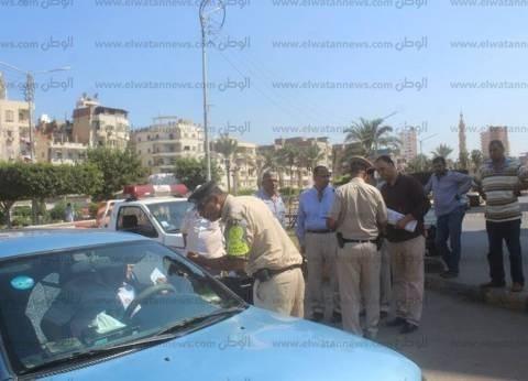 «أمن الشرقية»: فحص 11 سائقا.. وضبط حالة قيادة تحت تأثير المخدر