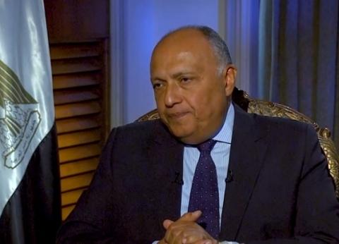 شكري: يجب الاعتماد على قرارت مجلس الأمن لإنهاء أزمة الصحراء الغربية