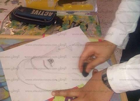 """""""بروفايل"""".. ورشة تشكيلية بـ""""ثقافة جنوب سيناء"""""""