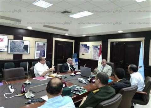 محافظ البحر الأحمر يعقد اجتماعا بغرفة عمليات المحافظة لمتابعة سير الانتخابات