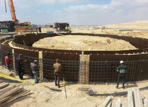 """""""الري"""": إحلال وتجديد شبكات الصرف المغطى على مساحة 85 ألف فدان"""