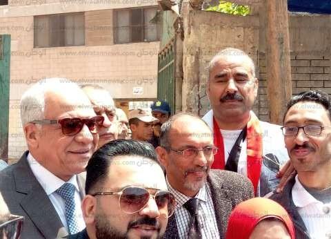 """بحضور قيادات """"التعليم"""".. مسيرة في شوارع الجيزة لدعم تعديل الدستور"""