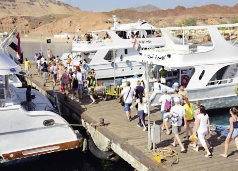 انخفاض نسبه الاشغال السياحي إلى 39% في مدن محافظه جنوب سيناء