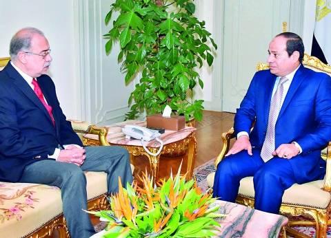 رئيس الوزراء يهنئ السيسي بمناسبة الذكرى الثالثة لثورة 30 يوينو