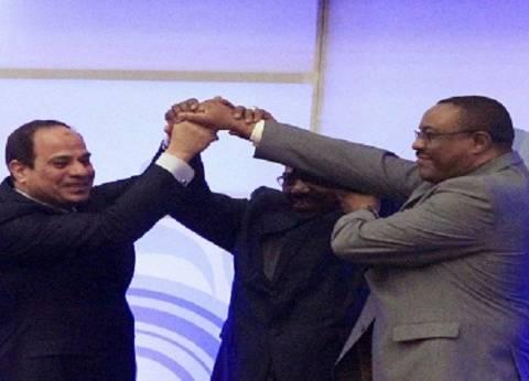 بالفيديو| 6 مناسبات جمعت السيسي برئيس وزراء إثيوبيا بشأن سد النهضة