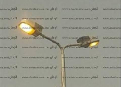 بالصور| غضب أهالي شبراخيت البحيرة بسبب انقطاع الكهرباء عن الشوارع ليلا