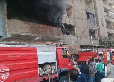 الحماية المدنية تسيطر على حريق شقة سكنية في الهرم