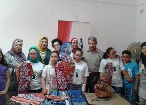 """""""قومي المرأة"""" بالإسكندرية ينظم ورشة عمل فنية عن """"إعادة تدوير المخلفات"""""""