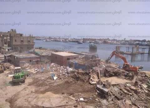 محافظ دمياط: الانتهاء من كافة أعمال الإزالات بمنطقة الصيادين برأس البر