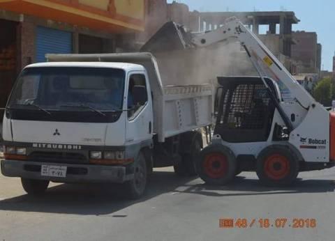 """رئيس """"القصير"""" يشدد على أعمال النظافة ورفع المخلفاتبشوراع المدينة"""