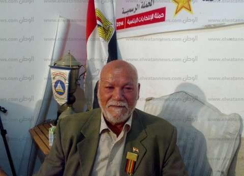 أحد أبطال أكتوبر يروي ذكرياته مع جيهان السادات بجمعية الهلال الأحمر