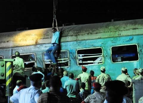حبس سائقى قطارى الإسكندرية 15 يوماً.. وسائق قطار بورسعيد: توقفت تنفيذاً لتعليمات عامل السيمافور والقطار لم يكن معطلاً