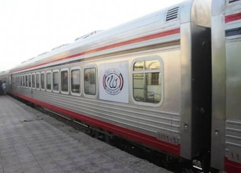 عودة حركة القطارات من محطة أسوان بعد توقف 36 ساعة