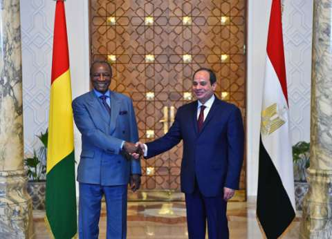 """اقتصاد وصحة وتعليم.. العلاقات بين مصر وغينيا """"على كل شكل ولون"""""""