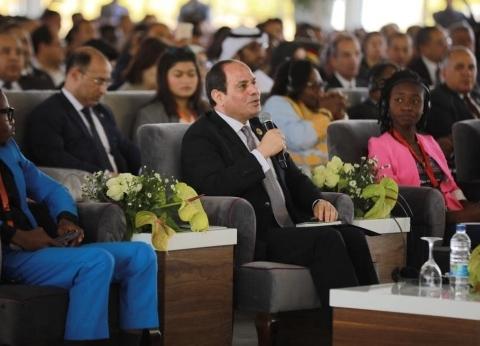 السيسي يشهد المائدة المستديرة وادي النيل مصر للتكامل الأفريقي والعربي
