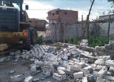 إزالة 19 حالة تعدٍ على أراضي أملاك الدولة في الشرقية