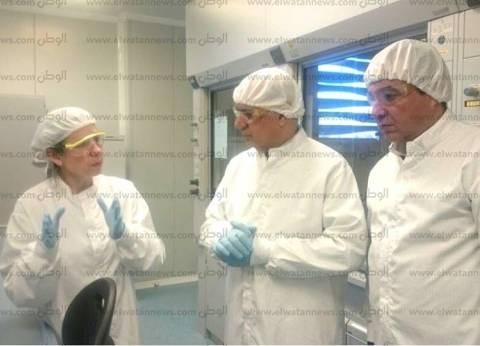 رئيس جامعة كفر الشيخ يزور معهد علوم المواد بجامعة برشلونة