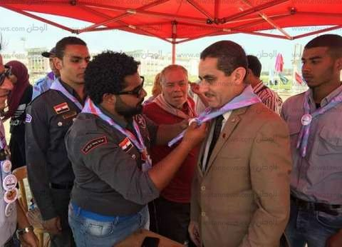 افتتاح لقاء الصداقة الأول لجوالي الجامعات المصرية
