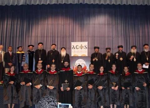 الكنيسة تحتفل بتخريج دفعة جديدة من طلبة الماجستير بالكلية اللاهوتية