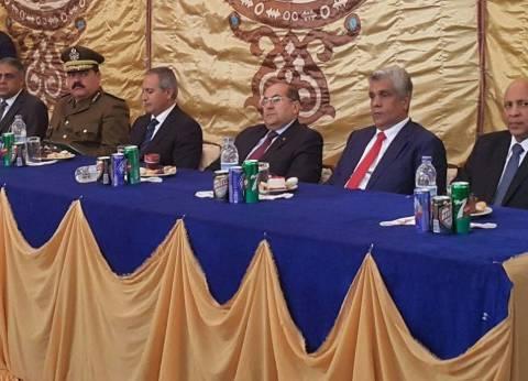 مساعد وزير الداخلية يفتتح مركز شرطة جزيرة شندويل والسجل المدني بسوهاج