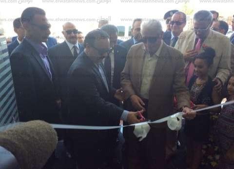 بالصور| وزير الاتصالات يفتتح مركز الخدمات البريدية بشرم الشيخ