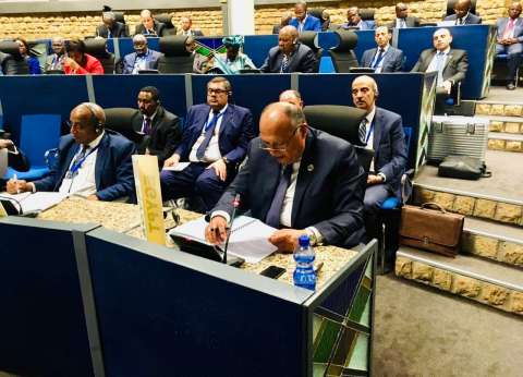 شكري يشارك في اجتماع لجنة الاتحاد الإفريقي رفيعة المستوى حول ليبيا