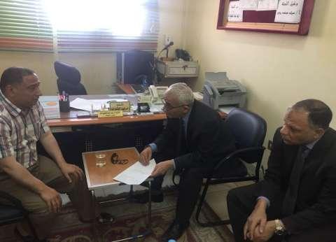 """رئيس """"التعليم العام"""" يتفقد لجنة النظام والمراقبة بقطاع الإسماعيلية"""