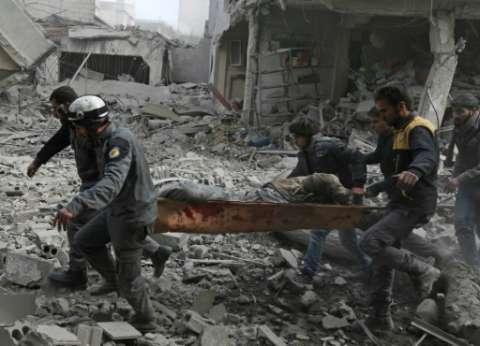 """مقتل 37 مدنيا في قصف روسي على """"عربين"""" في الغوطة الشرقية"""