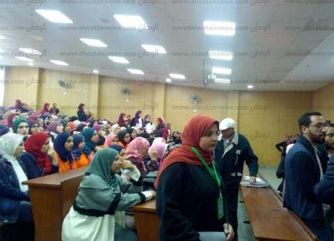 بالصور| جامعة دمياط تستعد لندوة وزير الآثار الأسبق زاهي حواس