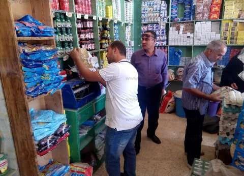 بالصور| تحرير 24 محضرا تموينيا والتحفظ على 165 كجم لحوم فاسدة