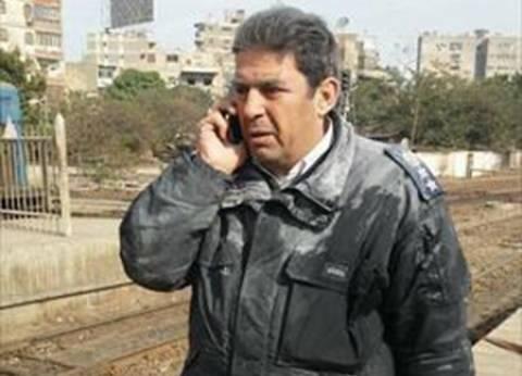 بالصور| عقيد شرطة ينقذ قطارا بمحطة مصر من حريق