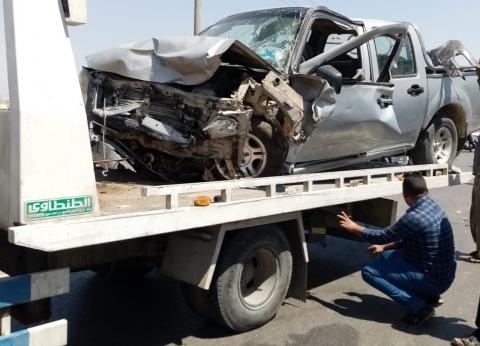 مصرع 3 أشخاص وإصابة 2 آخرين في حادث تصادم بسوهاج