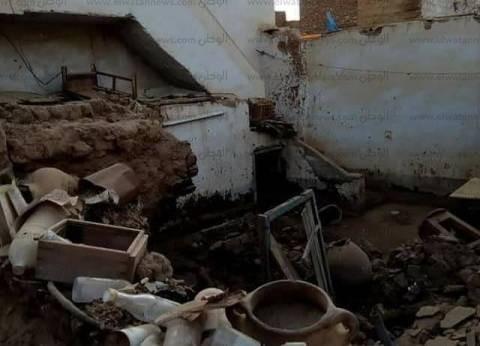 بالأسماء| انتشال 5 جثث بينهم 4 أطفال من تحت أنقاض المنزل المنهار بقنا