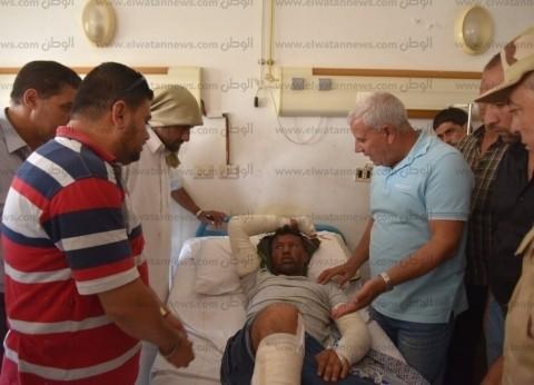 محافظ مطروح يطالب بتكثيف أعمال النظافة بالمستشفى العام
