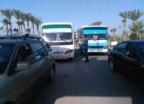 توافد الآلاف من الزائرين على مدينة رأس البر للاحتفال بشم النسيم