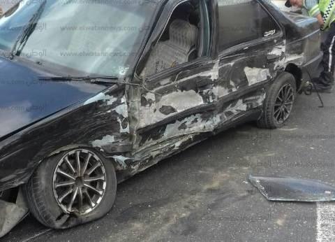 """إصابة 4 طلاب بـ""""الثانوية الأزهرية"""" في انقلاب سيارة بكفر الشيخ"""