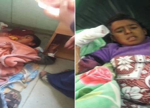 دماء على ملابس الأطفال: «مش هنبكى ونفرّح الإرهابيين»