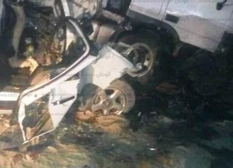 إصابة مدير إدارة تعليمية و3 آخرين بحادث انقلاب سيارة في كفرالشيخ