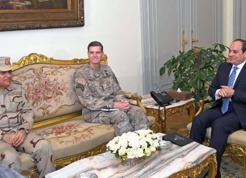 عاجل| السيسي يستقبل قائد القيادة المركزية الأمريكية