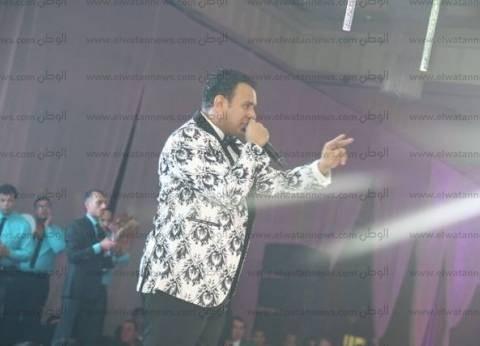 بالصور| محمود الليثي يبدأ حفله الثاني برأس السنة في سيتي ستارز
