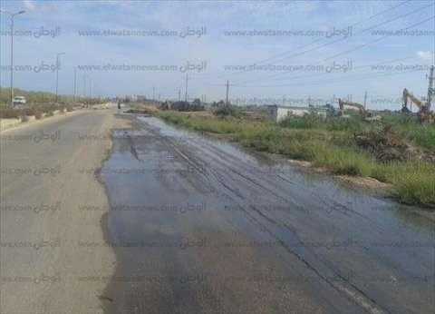 ازدواج الطريق الدولي من نفق أحمد حمدي 5 كيلومترات على حدود رأس سدر