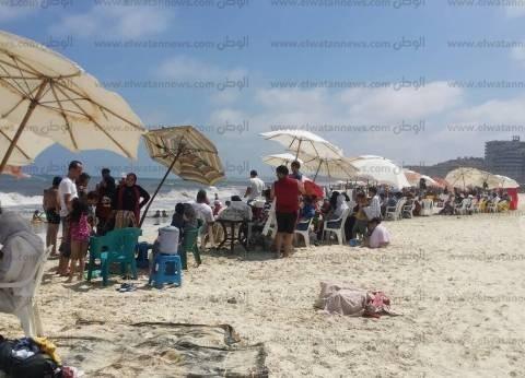 قبل العيد..  محافظة الإسكندرية تحذر من نزول شاطئ النخيل لخطورته