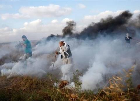 189 إصابة برصاص الاحتلال على حدود غزة