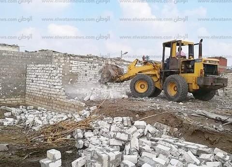 محافظ الشرقية: إزالة 208 حالة تعدي على الأراضي الزراعية خلال فبراير